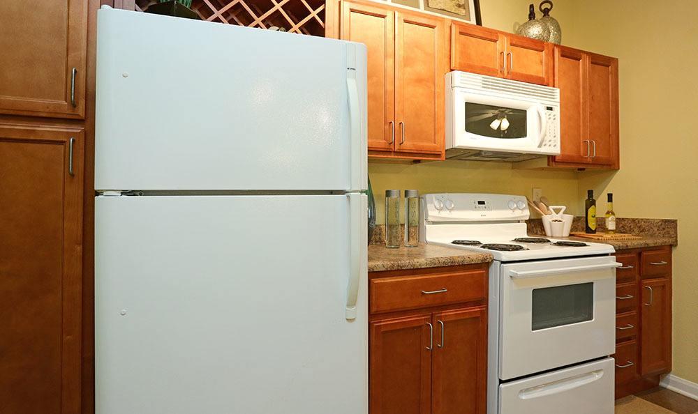 Apartment kitchen in Huntsville