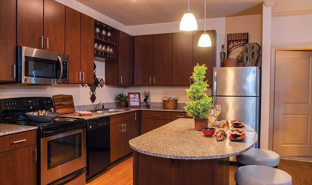 Murfreesboro Apartments Kitchen And Breakfast Bar