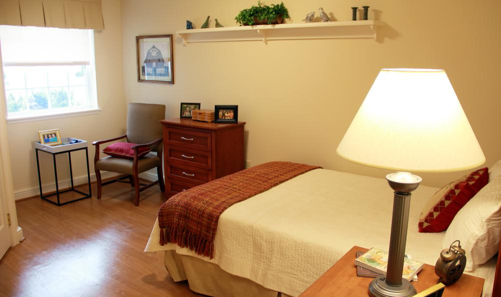 Bedroom male  at Artis Senior Living of West Shore in Lemoyne