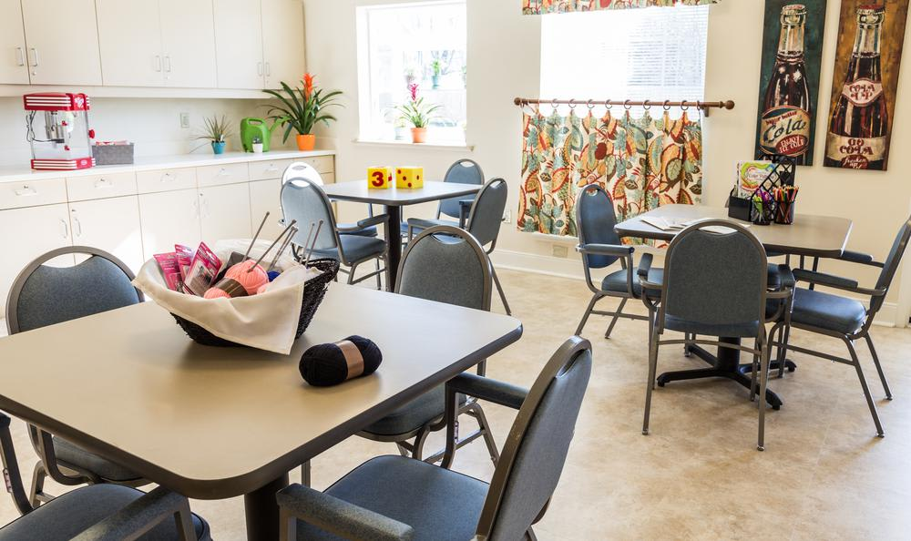Dinning Room at Artis Senior Living of West Shore in Lemoyne
