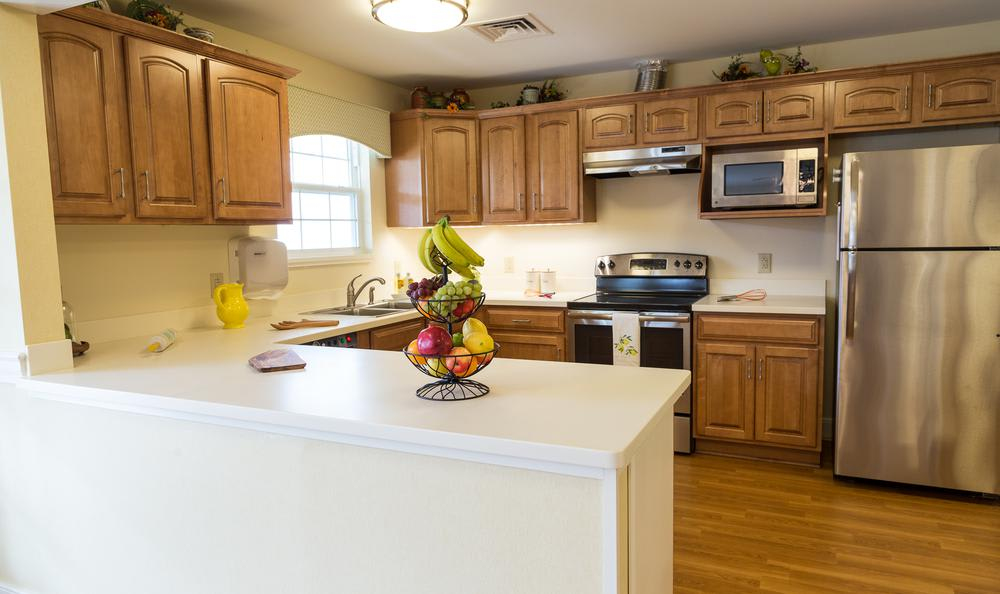 Kitchen at Artis Senior Living of West Shore in Lemoyne