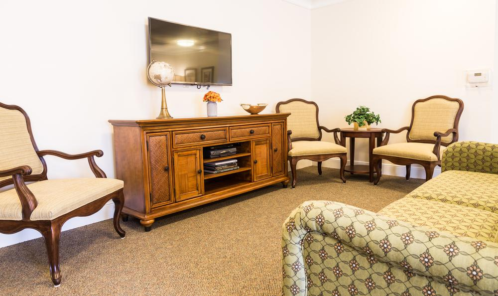 Living Room at Artis Senior Living of West Shore in Lemoyne