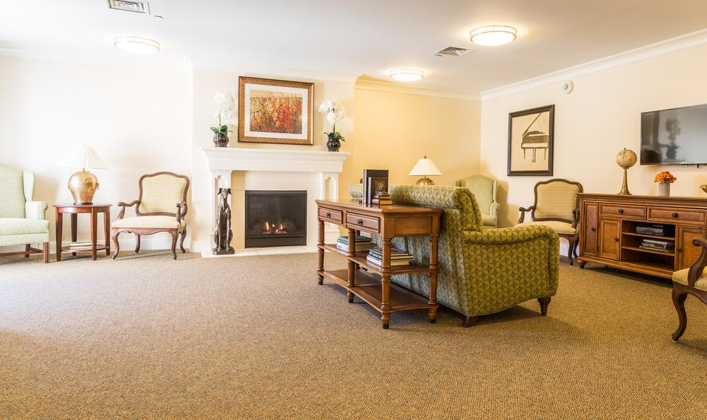 Living Room at Artis Senior Living of Davie in Davie