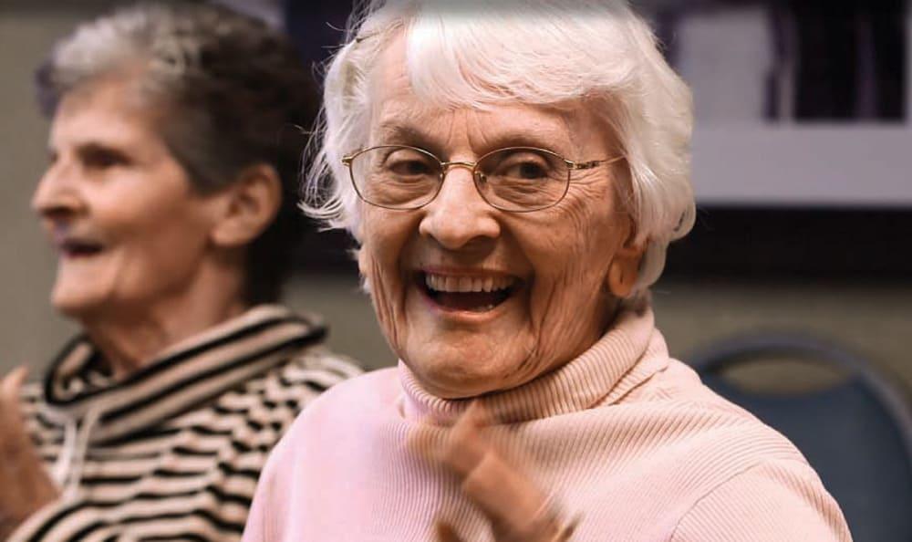 Laughter at Artis Senior Living