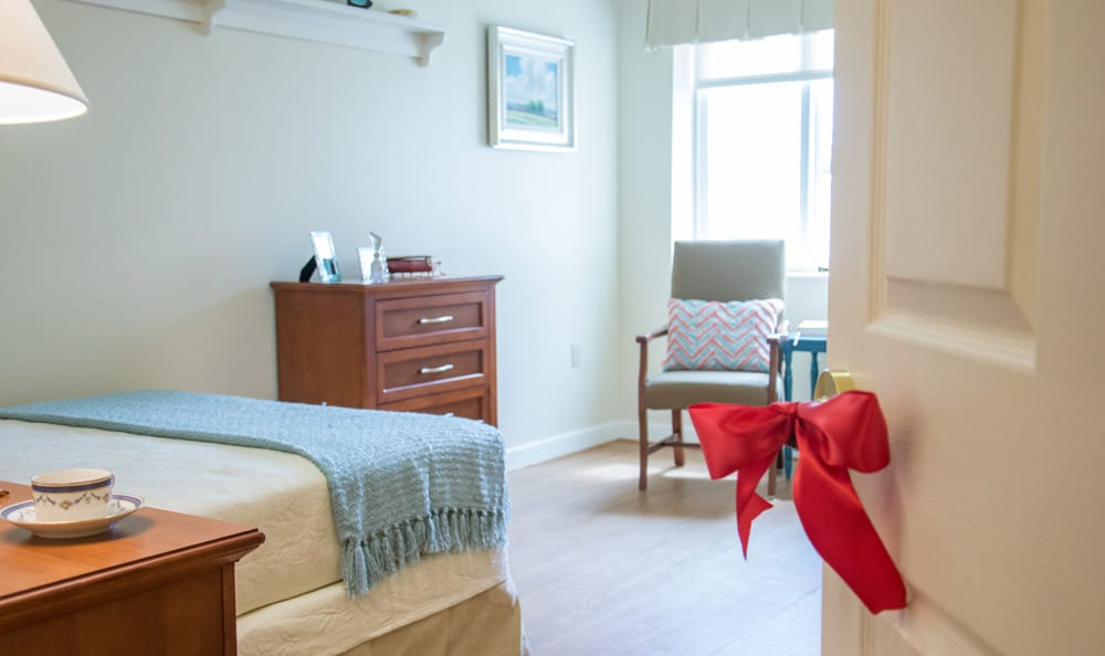 Bedroom at Artis Senior Living of Boca Raton