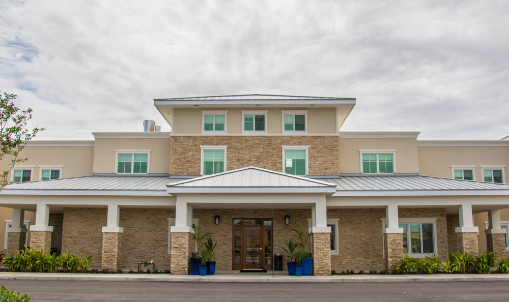Exterior to Artis Senior Living of Boca Raton senior living