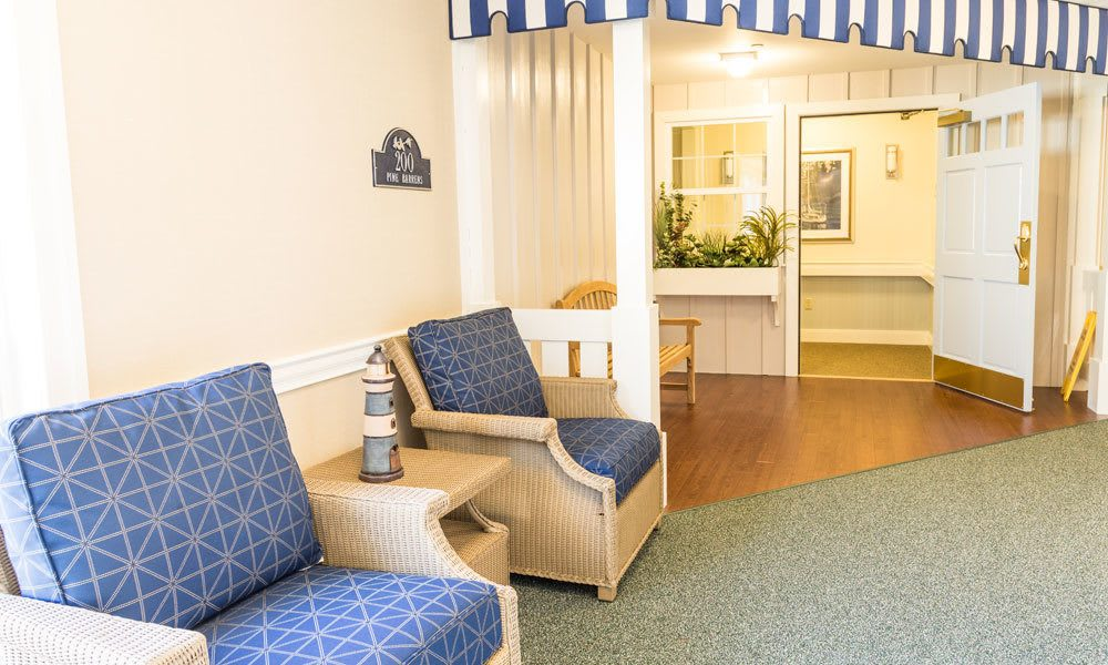 The entrance to a room at Artis Senior Living of Evesham in Evesham, New Jersey