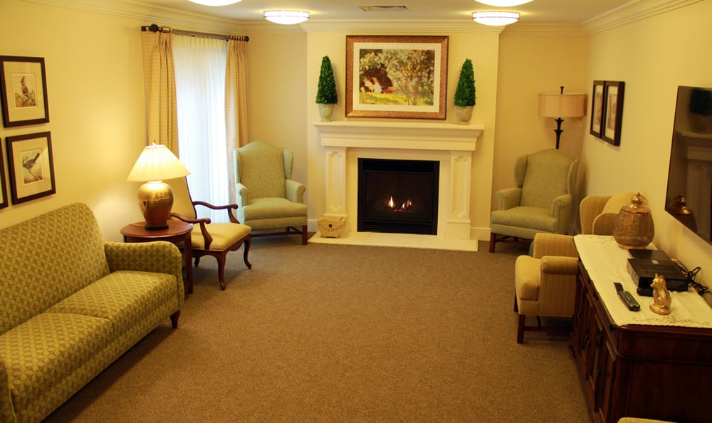 Living room at Artis Senior Living of Bridgetown