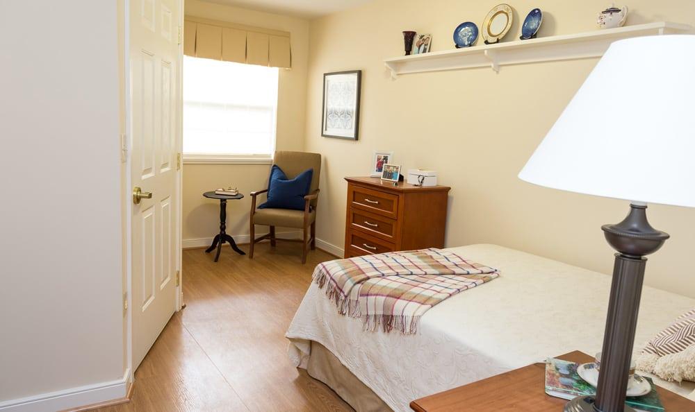 Bedroom at Artis Senior Living of Huntingdon Valley