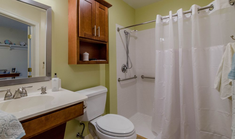 Bathroom at Artis Senior Living of Princeton Junction