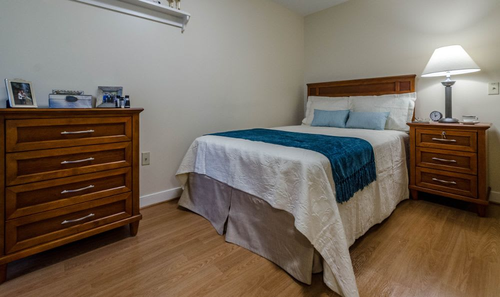 Bedroom at Artis Senior Living of Princeton Junction