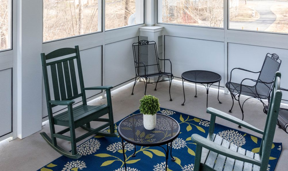 Comfortable spaces at Artis Senior Living of Princeton Junction