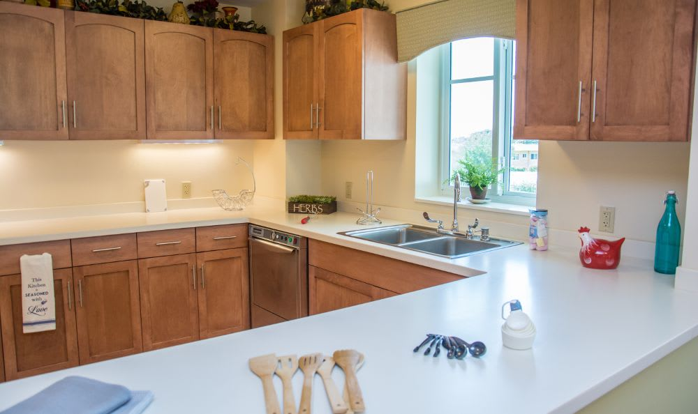 Kitchen at Artis Senior Living of Princeton