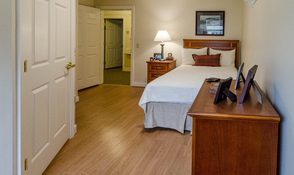 Senior living in Reading includes spacious bedrooms