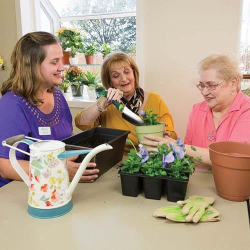 family resources at Olney Memory Care