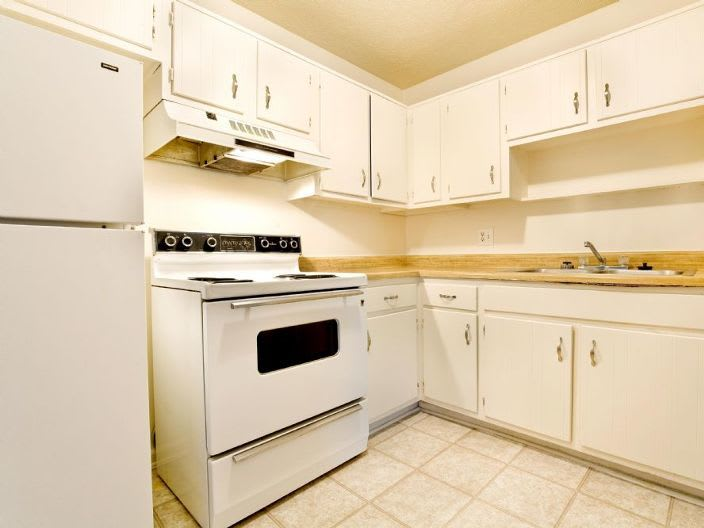 kitchen room at apartments in Clarksville, IN