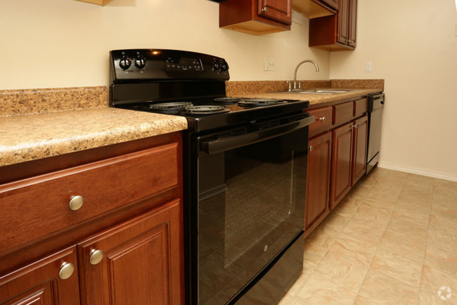 kitchen upgrade at apartments in Clarksville, IN