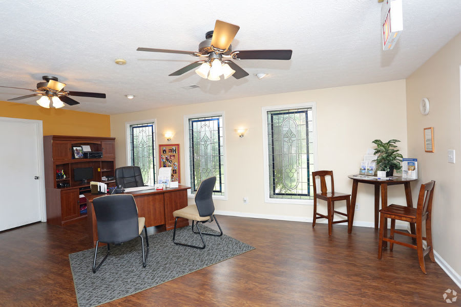 office at apartments in Clarksville, IN