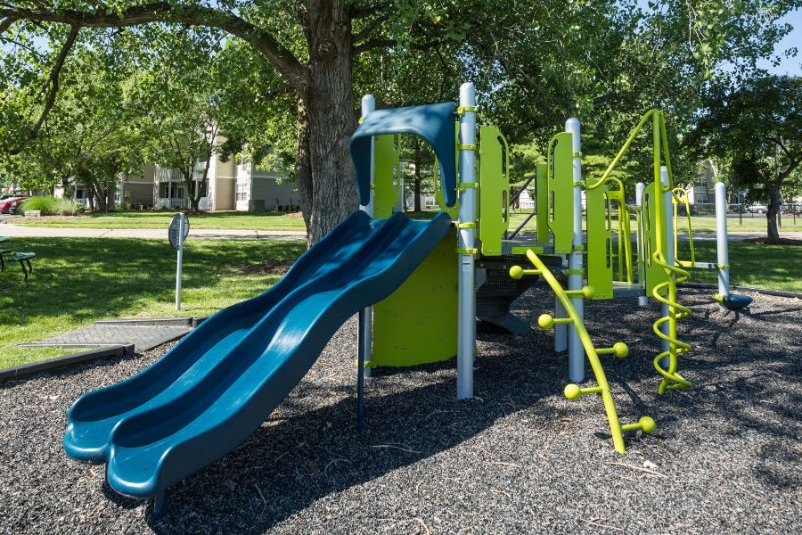 Playground at apartments in Florissant, MO