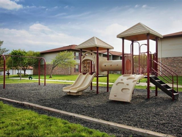 playground at apartments in Decatur, IL