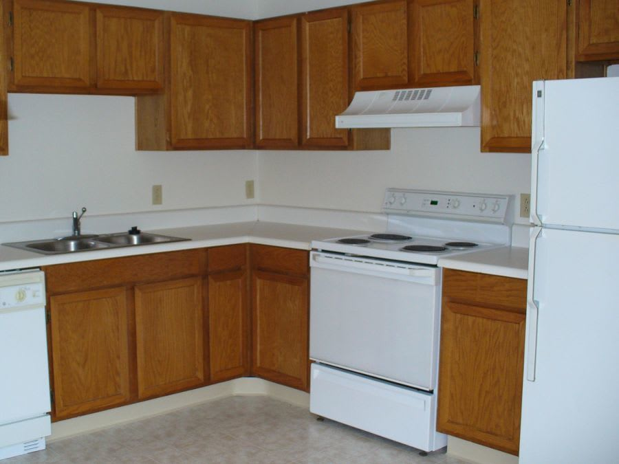 spacious kitchen room at apartments in Cranberry Township, PA
