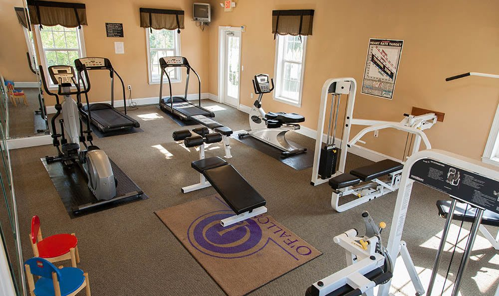 Keep In Shape With Our Fitness Center at O'Fallon Lakes in O'Fallon, MO