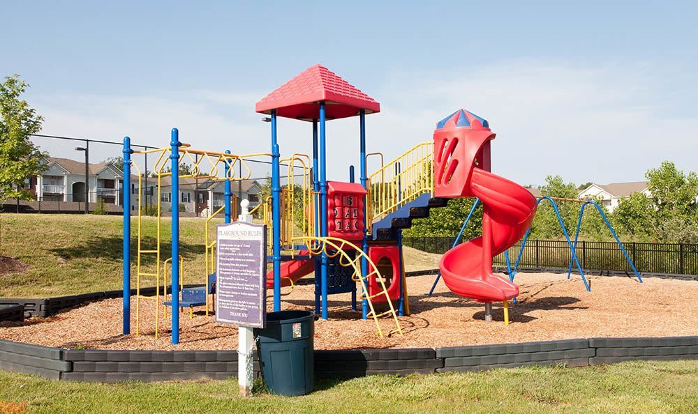 Playground Equipment at O'Fallon Lakes in O'Fallon, MO