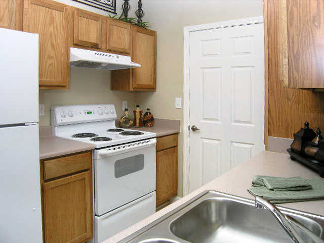 kitchen room at apartments in Wentzville, MO