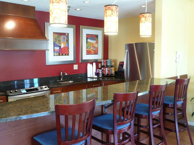 club coffe bar at apartments in West Des Moines, IA