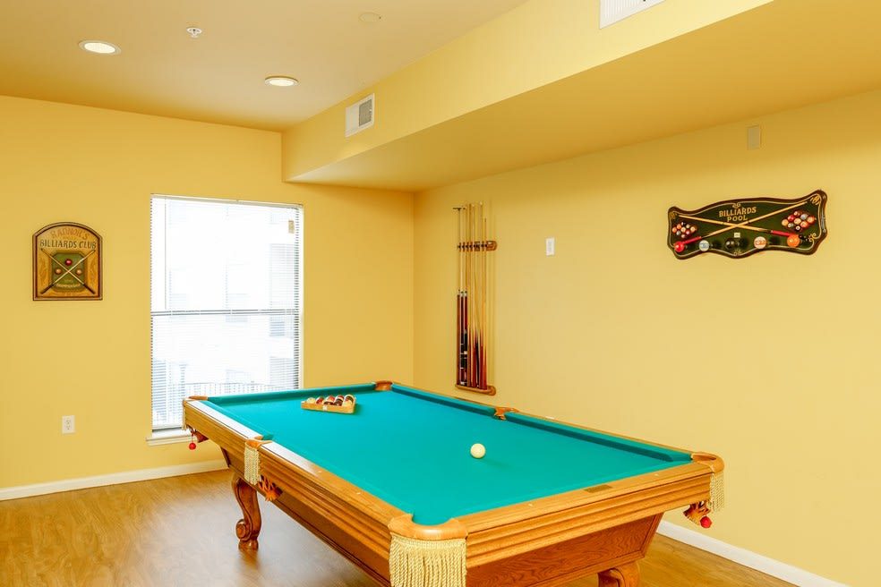 Enjoy a game of billiards at Canal Place