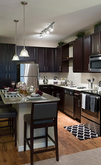 Integra Cove apartments have luxury amenities