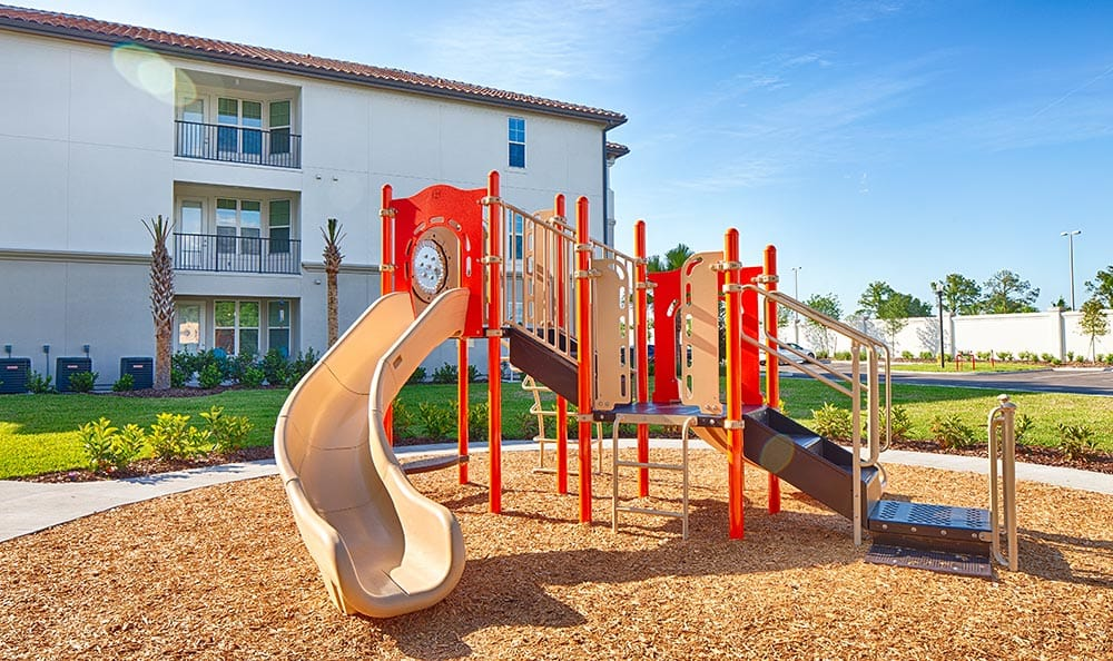 On-site playground at Park Place at Maguire in Windermere
