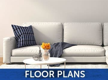 Floor plans at the apartments for rent in Clarksville