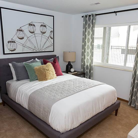 master bedroom at CAPREIT in Rockville, Maryland