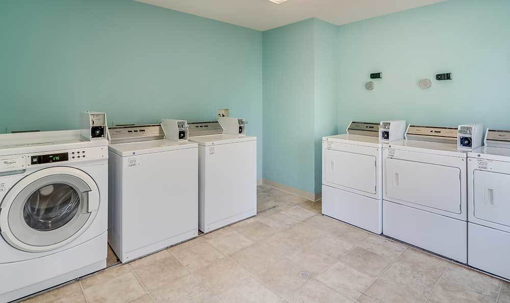 Laundry Facility At Our Apartments In Midloathian