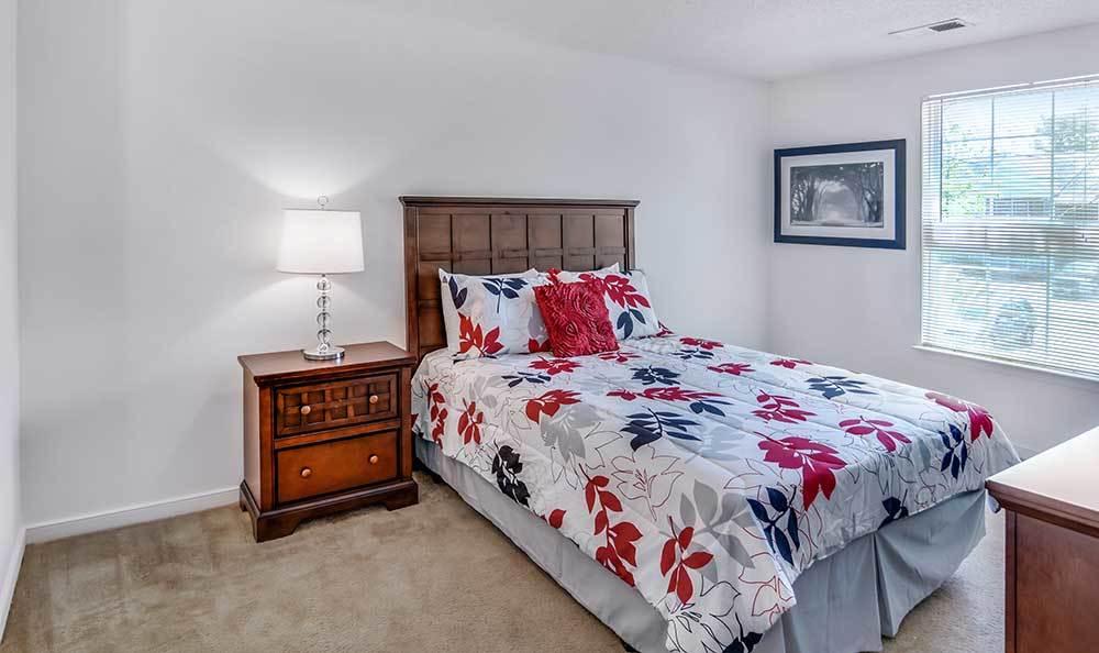 Guest Bedroom At Our Apartments In Henrico