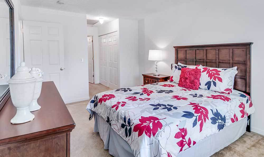 Large Bedrooms At Our Apartments In Henrico