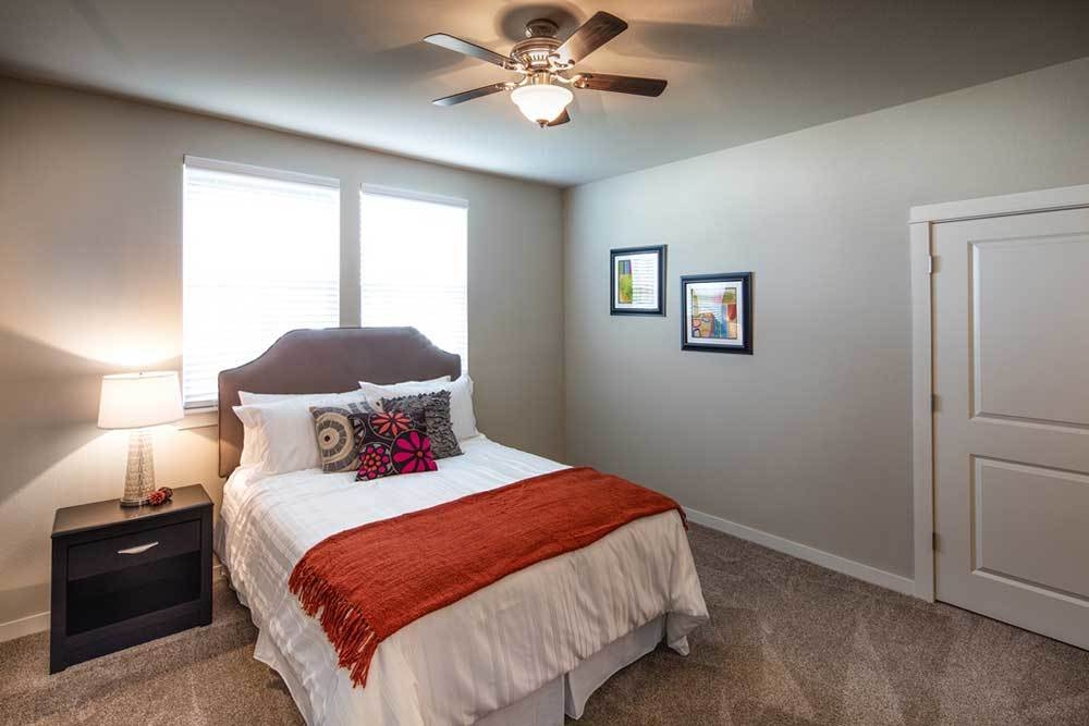 Model Master Bedroom At Traditions At Mid Rivers
