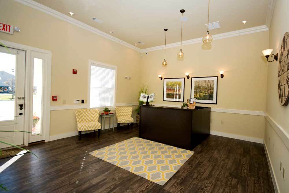 Office Interior At Traditions At Mid Rivers