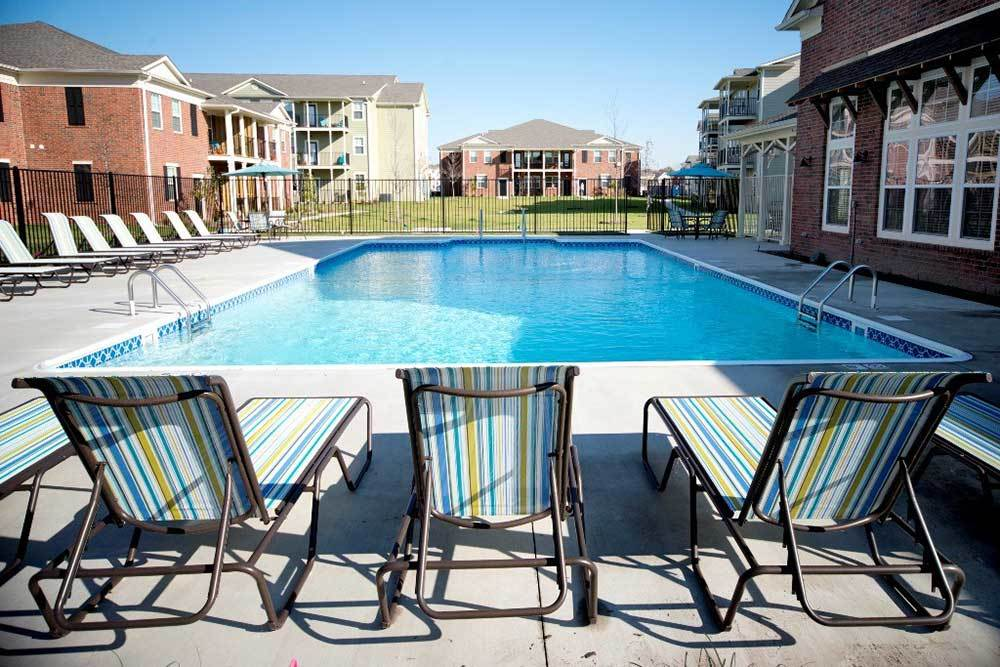 Sparkling Pool At Traditions At Mid Rivers