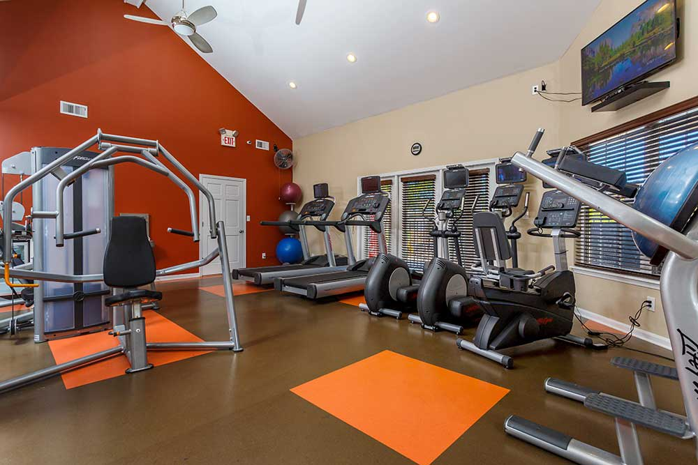 The gym was created with you in mind. Southgate Landing wants to offer a convenient gym for its residents.