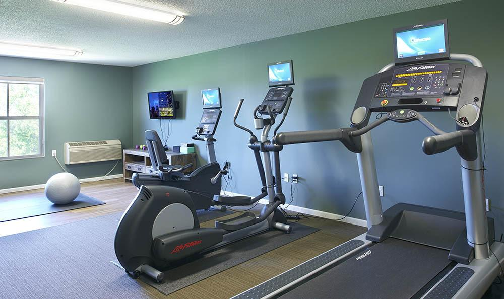 Fitness Center at apartments in Woodbury, MN