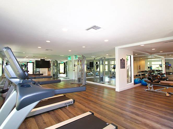 Gym Area at Brantley Pines in Fort Myers, FL