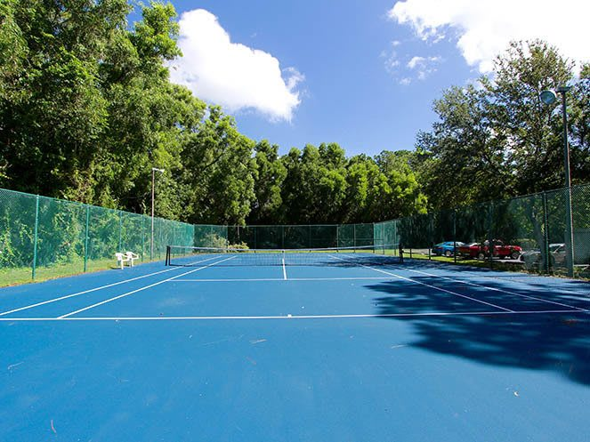 Tennis Court at Brantley Pines in Fort Myers, FL