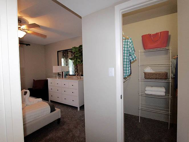 Walk-In Closet at Brantley Pines in Fort Myers, FL