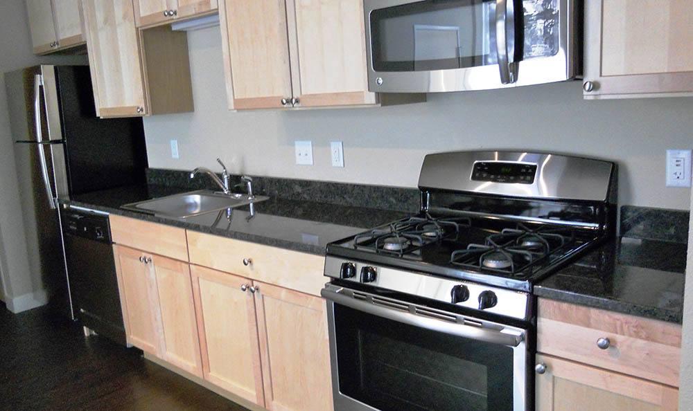 Granite countertops at apartments in Minneapolis, MN