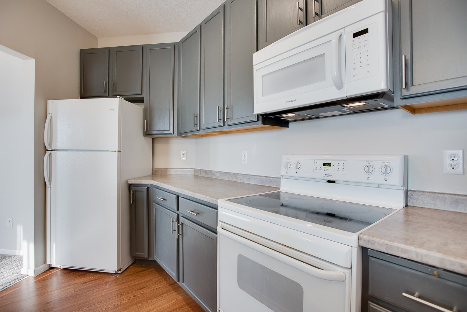 Provence Apartments upgraded kitchens