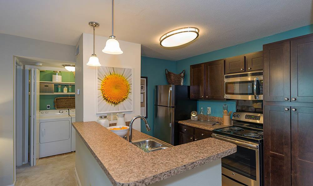 Kitchen at Residences at Belmont in Fredericksburg