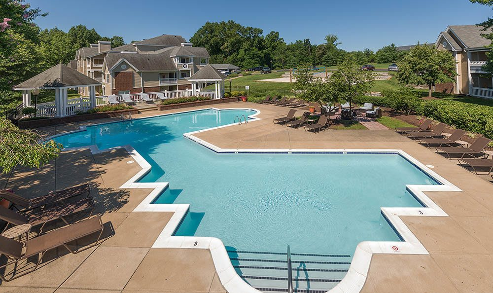 Pool at Residences at Belmont in Fredericksburg