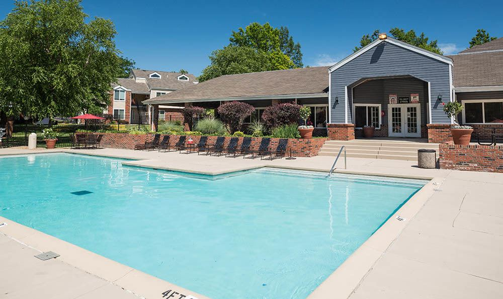 Pool at Sunbrook Apartments in Saint Charles